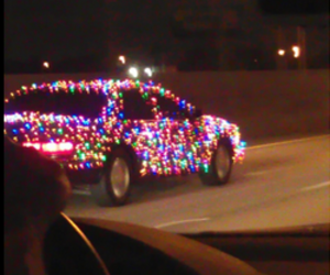 car, christmas, and funny image
