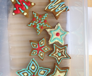 Cookies, ginger bread, and icing image