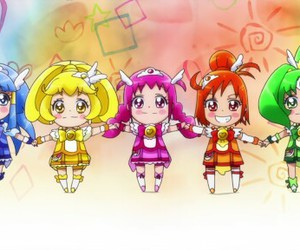 chibi, smile precure, and cure peace image