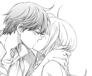manga, couple, and love image
