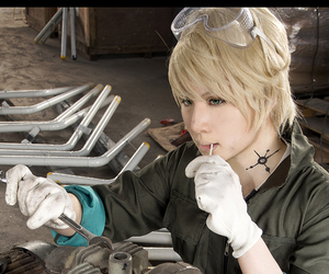 cosplay, mechanic, and spanner image