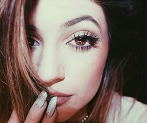 eye, hair, and kylie jenner image