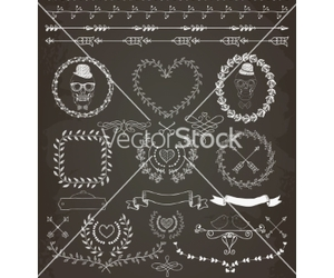 banner, floral, and flower image