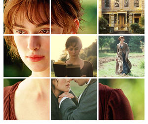 orgullo y prejuicio, elizabeth bennet, and mr darcy image
