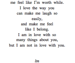 feelings, love, and quotes.in love image