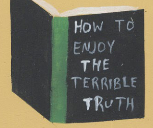 book, sad, and truth image