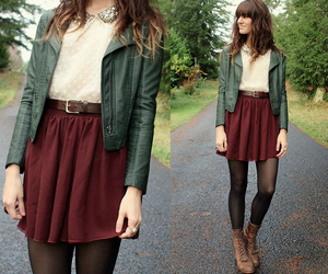 beauty, casual, and grunge image