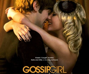 gossip girl, nate, and jenny image