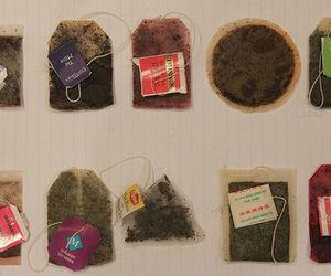 tea, tea bag, and vintage image