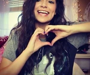 bethany mota, heart, and youtube image