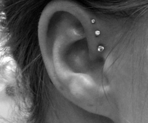 helix, forward helix, and Piercings image