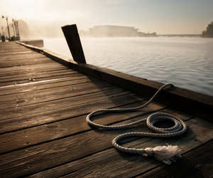 ocean, photography, and dock image