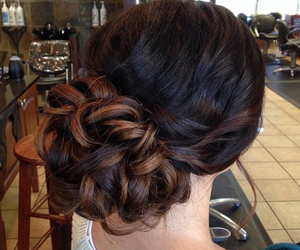 hairstyles and formal up-do image