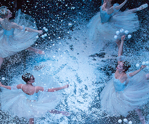ballet, christmas, and dance image