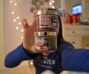 candle, christmas, and holiday image