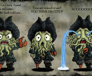 Davy Jones, pirates of the caribbean, and cute image