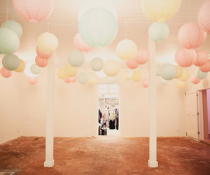 balloons, room, and decorations image
