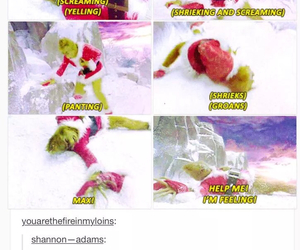 funny, feelings, and the grinch image