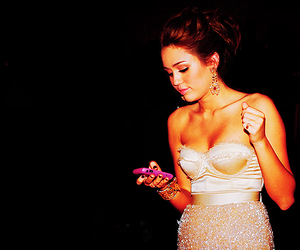 blackberry, dress, and pink image