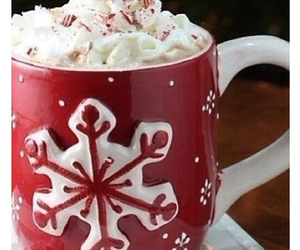 christmas, cocoa, and marshmallows image