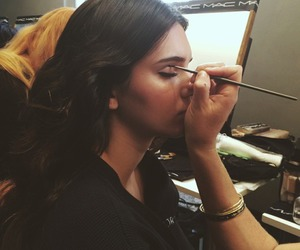 model, kendall jenner, and makeup image