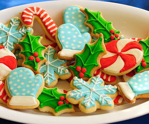 biscuits, gnam, and christmas image