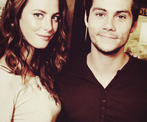 cast, KAYA SCODELARIO, and dylan o'brien image