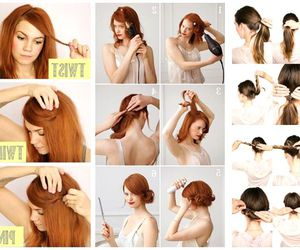 diy, hair, and nice image