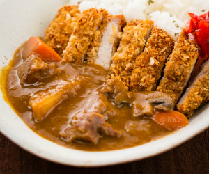 Chicken, curry, and katsu image