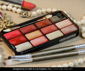 makeup, iphone 5 case, and cute image