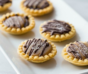 chocolate, pie, and salted caramel image