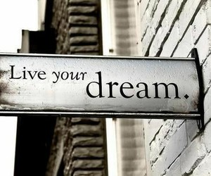 black, live, and Dream image