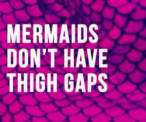 healthy, legs, and mermaids image