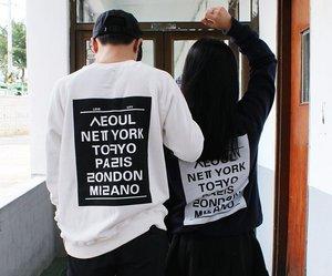 couple, ulzzang, and fashion image