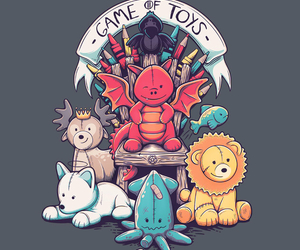 got, game of thrones, and toys image