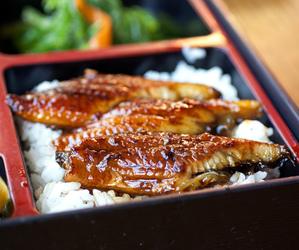 food, asian, and bento image