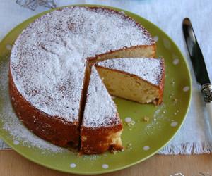 apple, cake, and eggnog image