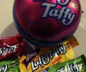 candy, sugar, and wonka image