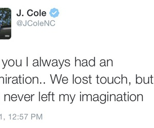 j cole, imagination, and quotes image