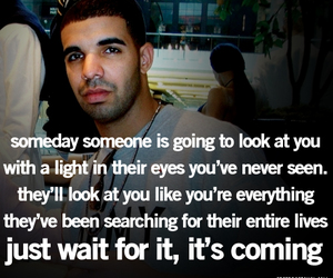 Drake, quotes, and love image