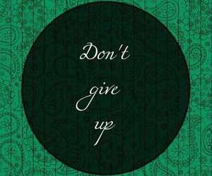 don't give up image