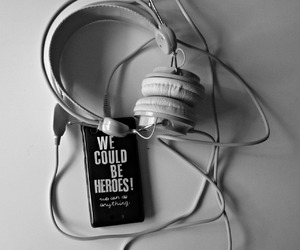case, grunge, and headphones image
