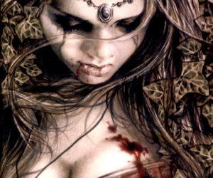 victoria frances, gothic, and vampire image