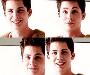 logan lerman and percy jackson image