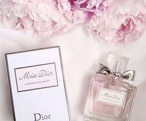 dior, miss dior, and flowers image