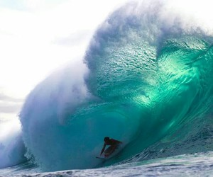 beautiful, surf, and waves image