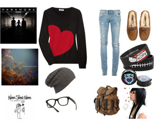 fashion, Polyvore, and never shout never image
