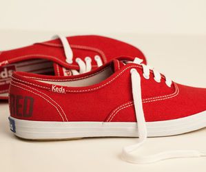 red, keds, and Taylor Swift image