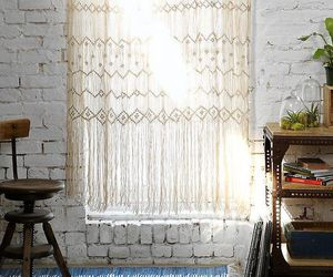 curtains, interior, and white image