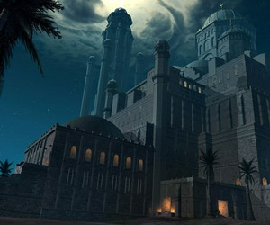 art, castle, and prince of persia image